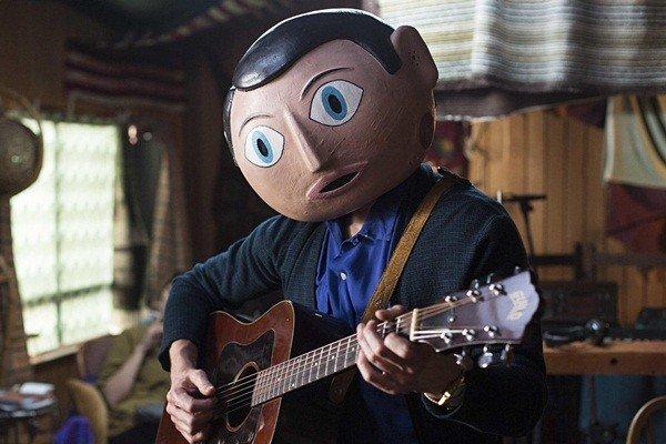 Michael Fassbender as Frank Sidebottom in 'Frank'