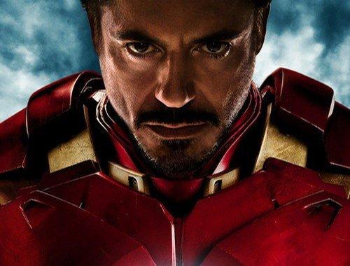 Tony Stark nei panni della sua armatura