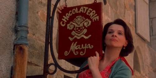 Chocolat Juliette Binoche