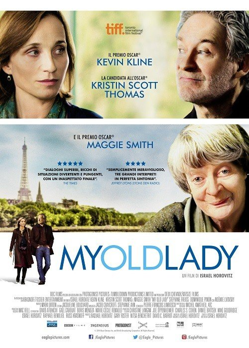 My Old Lady poster italiano