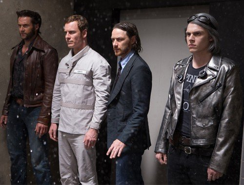 Logan, Magneto, Xavier e Quicksilver al Pentagono.