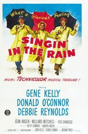 cantando sotto la pioggia locandina