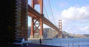 Golden Gate Bridge in Vertigo
