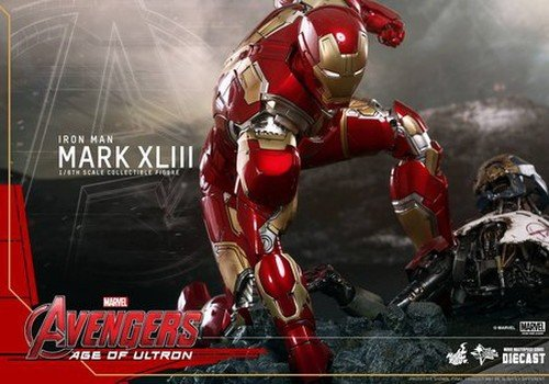 Avengers II la nuova armatura di Iron- Man