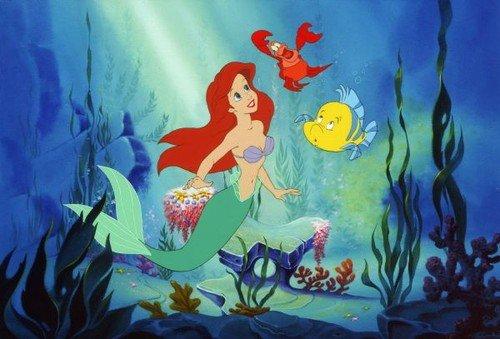 Ariel, Flounder e Sebastian