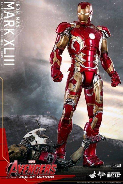 Avengers II la nuova armatura di Iron-Man