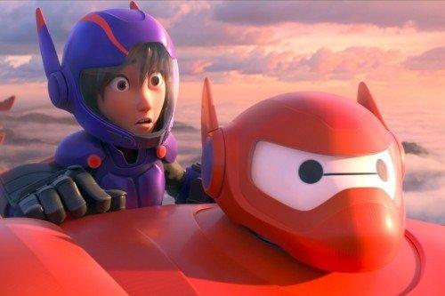 Hiro e Baymax
